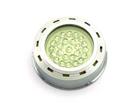 Round Surface Mounted Puck light 25 LED Cluster