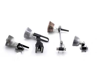 Adjustable 12v Track Light Kit head options
