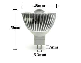3w MR16 45 degree LED Bulb description