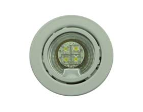 Round Recessed or Surface Mounted LED Puck light